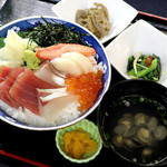 赤坂 三河家 - 海鮮丼