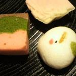 そえ田 - 季節の生菓子