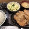 直ちゃん - 料理写真:鶏もも焼き定食大盛1250円