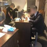 塩生姜らー麺専門店 MANNISH - 店内の様子