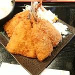 水喜 - 料理写真:アジフライ定食