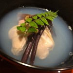 あらた - 蛤潮碗(生木耳・椎茸・蕨・木ノ芽)