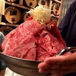 大衆和牛酒場 コンロ家 霜降り和牛鍋と神戸牛ホルモン鉄板焼 -