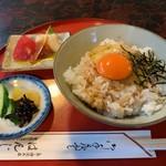 はんじ - 料理写真:卵かけごはん 並