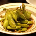 並木橋なかむら - 枝豆の山椒浸し