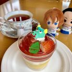 110919811 - ヤマタノオロチを紅茶とセットで退治出来ます