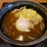 讃岐製麺 - とろ~りチーズのカレー釜たまうどん(並)