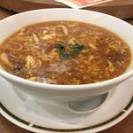 湖陽樹 - 酸ラータン麺