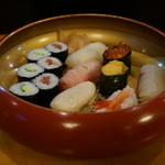 110923231 - 上寿司(¥2160税込み)