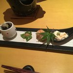 Satou - 前菜の盛り合わせ。