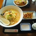 110923827 - 長崎チャンポンランチ★麺2倍無料★700円♪餃子5こ♪