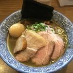 煮干しつけ麺 宮元 - 料理写真:特濃厚煮干しそば1050円