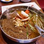 千里香 - 続いてはムルネンミョン(水冷麺)に良く似た冷麺が登場!