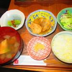 ケラピリカ - ランチ限定 オハウ定食 980円(税込)【2019年7月】