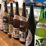 すし活 - ドリンク写真:呉の蔵元の地酒