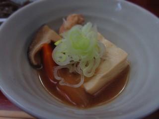 意外和食 ぴんち - 鶏豆腐