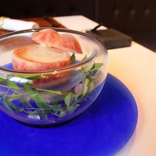 ◆軽井沢エルミタージュドゥタムラの桃のスープ!6月27日~