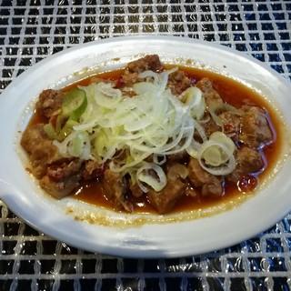 ごくめん - 料理写真:豚のピリ辛煮(¥450)