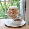 Patisserie fraise - 料理写真:タピオカミルクティ 生かき氷