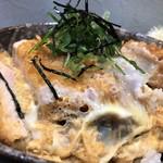 とんかつ 彩かつ - 料理写真:カツ丼アップ