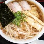 トトロ - 播州中華そば 豚系やや甘め濃厚スープ 播州中華そば専用麺 九条ねぎ 無化調