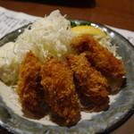鍛冶屋文蔵 - カキフライ ¥480