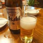 華勝園 - ドリンク写真:大瓶ビール