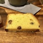 オン フラワーズ - 和三盆大納言のバターケーキ