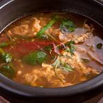 焼肉厨房あかいと - 『ユッケジャンスープ』