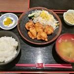 110954115 - 鶏唐揚げ定食