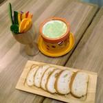 武蔵小杉ガーデンファーム - ミニパフェチーズフォンデュセット