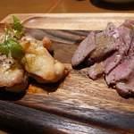 熟成肉&チーズの店 iQue' rico! ~ケリコ~  - 4皿目◇熟成肉アソート
