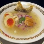 110956994 - 【鯛清湯さらり + 燻製玉子】¥850 + ¥100