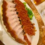 中華菜館 同發 - チャーシュー焼豚