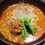 担担麺 利休 - 坦坦麺 新味(激辛)