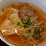 焼賣太樓 - ハーフワンタン麺定食♪