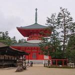 花菱 - 御影堂・根本大塔・三鈷の松・金堂♪(左より)