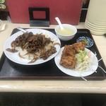 四季紅 - 料理写真:牛肉飯セット