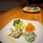 三宅料理店 - 前菜盛合せ(ランチ)