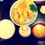 かつ亭石川 - チーズかつ定食