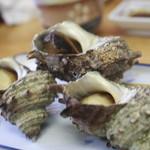 きむら - サザエのつぼ焼き定食