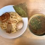元祖とんこつ 久留米ラーメン 山亭 - 濃厚魚介豚骨つけ麺