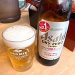 元祖とんこつ 久留米ラーメン 山亭 - ノンアルコールビール
