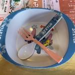 元祖とんこつ 久留米ラーメン 山亭 - 子供食器