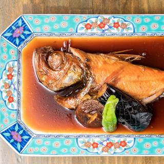 【ぞんぶん名物】最高級金目鯛の姿煮1480円