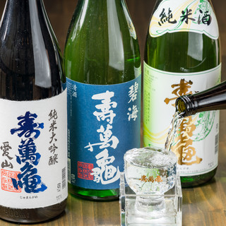 【充実の日本酒】全国各地から厳選した日本酒をご用意