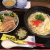 北谷食堂 - 料理写真:沖縄すば+ミニラフテー丼セット@900円