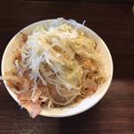 ピコピコポン - 汁無し(野菜増し、生姜)980円