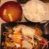 しらたき - 料理写真:焼そば目玉定食