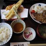 11099567 - 天ぷらと肉料理